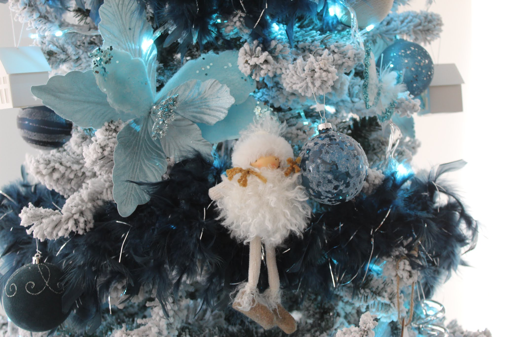 Blue Christmas… Getting In The Festive Spirit
