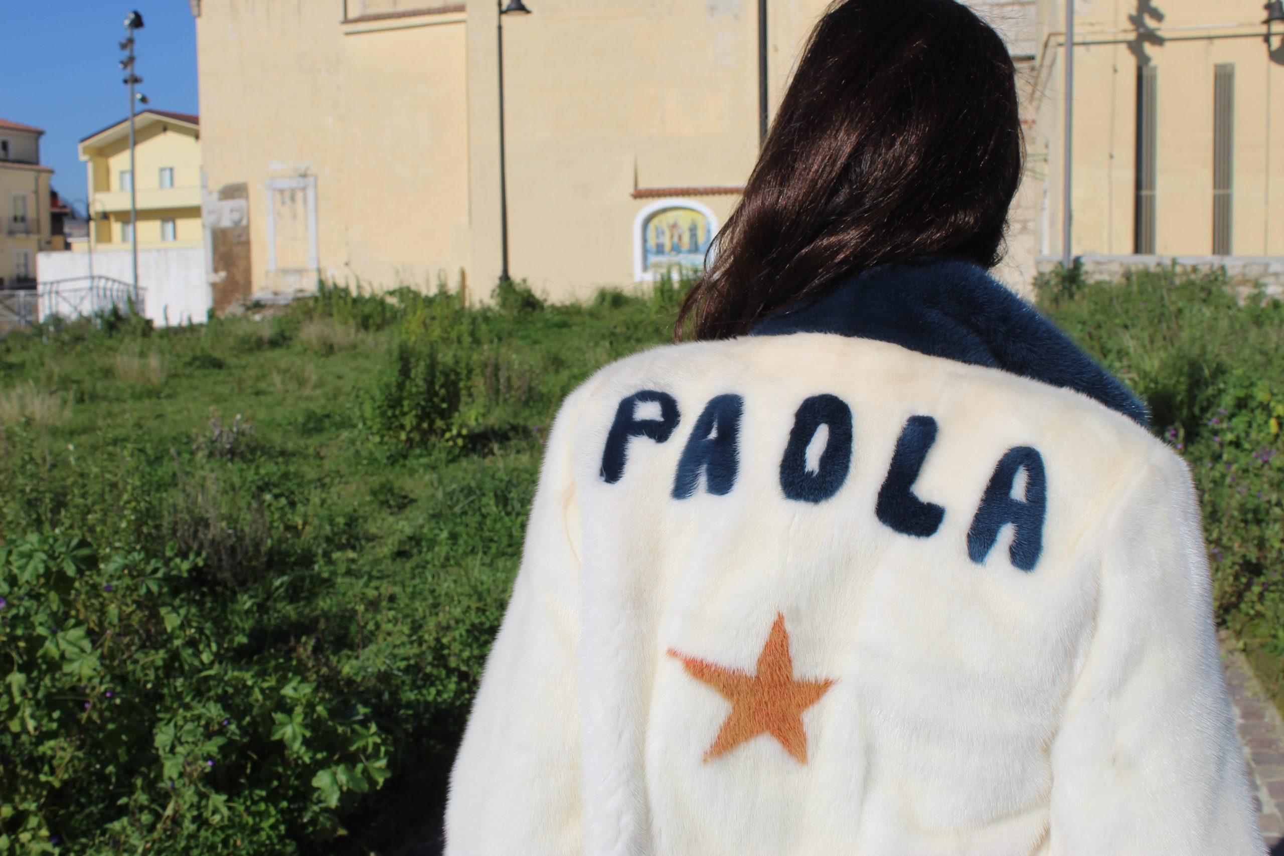 comfy outfit fur details Paola Lauretano