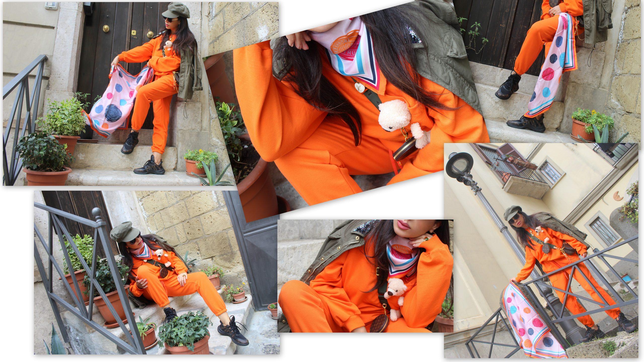 Louis Vuitton Accessories Orange Outfit Inspo Style Paola Lauretano Lifestyle Blogger