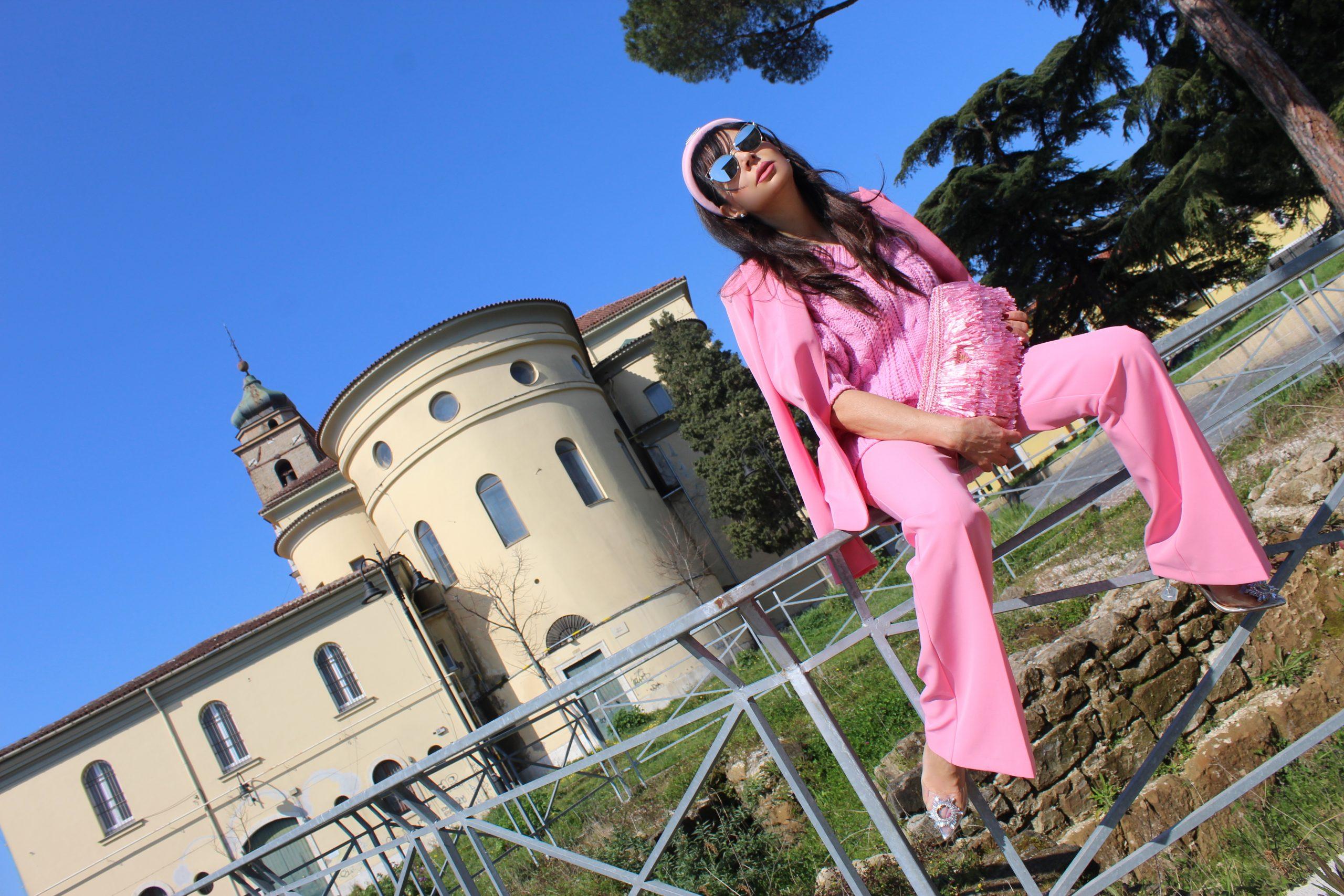 pink power spring trend hot pink prada accessories Paola Lauretano