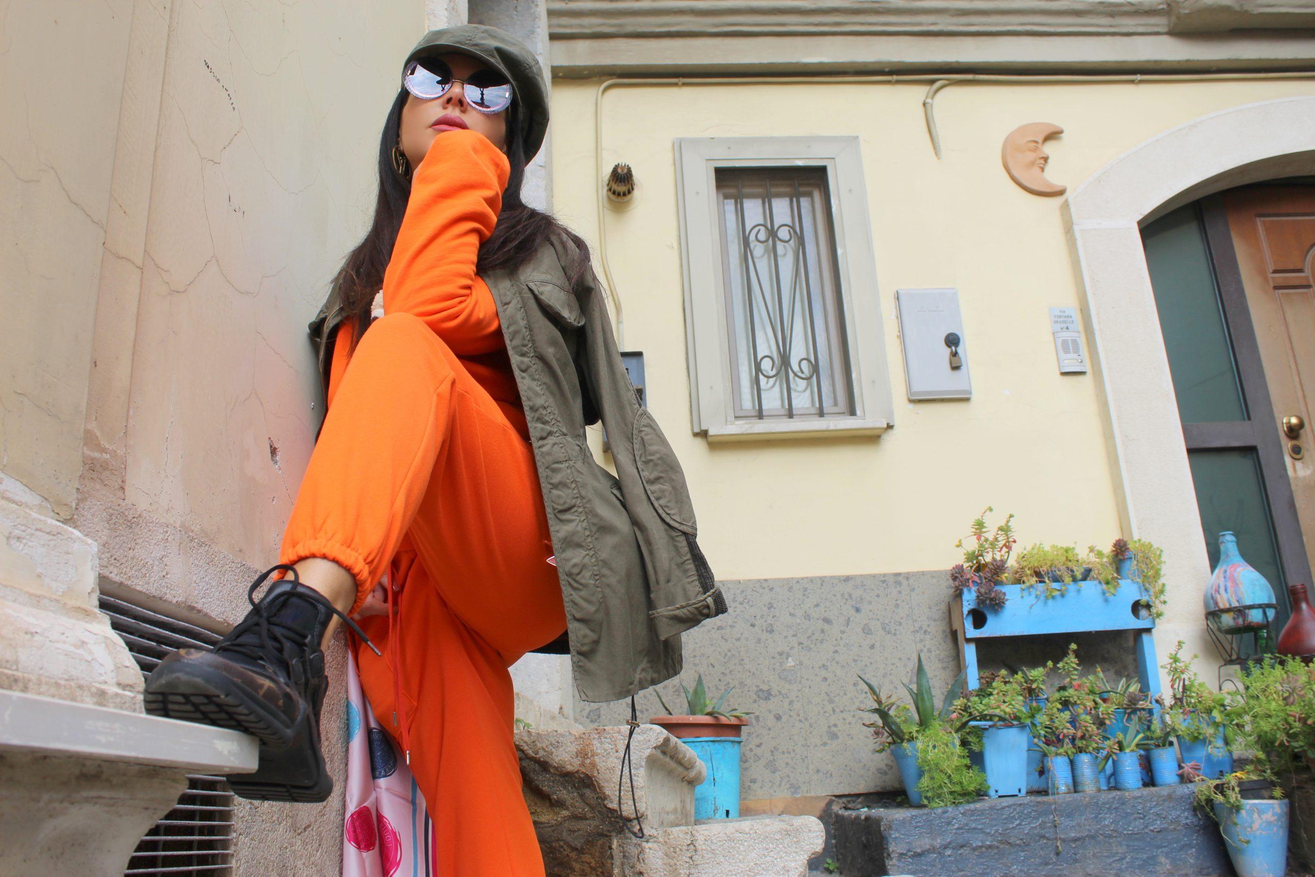 Louis Vuitton Bag Orange Outfit Inspo Style Paola Lauretano Lifestyle Blogger