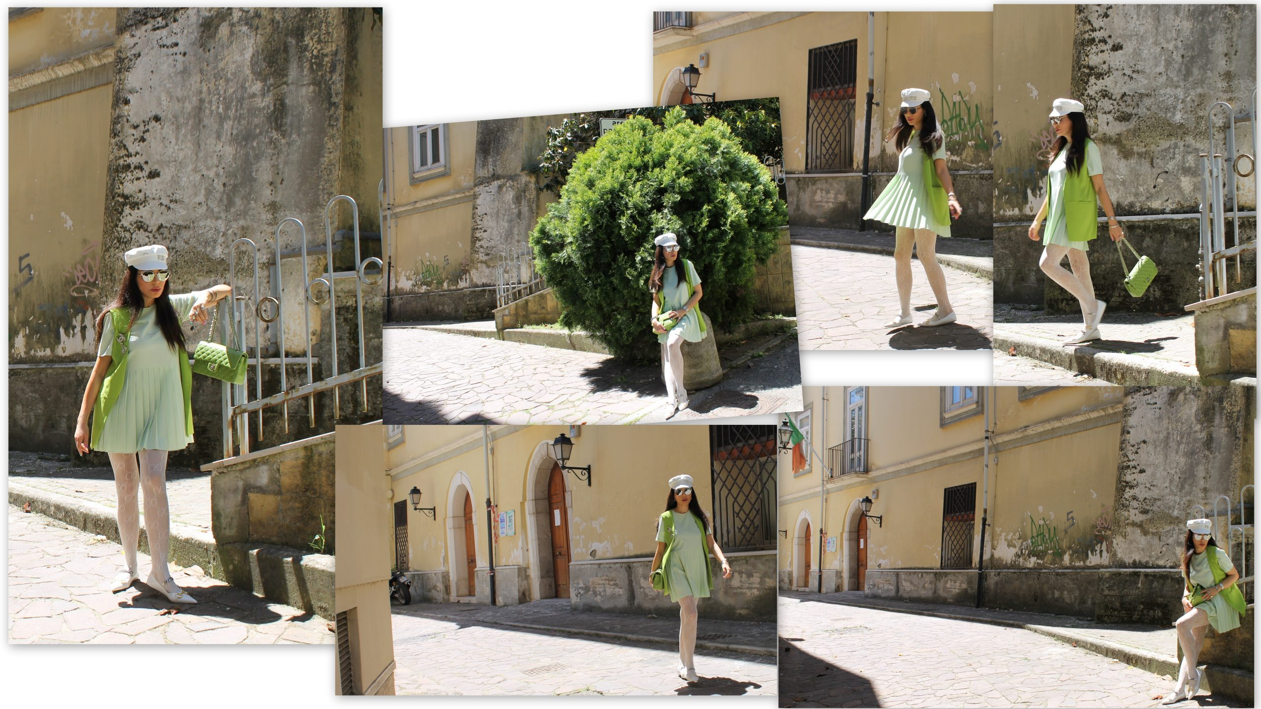 Pastel Colours Light Green Trend Spring 2021 Chanel Bag Gucci Accessories Paola Lauretano