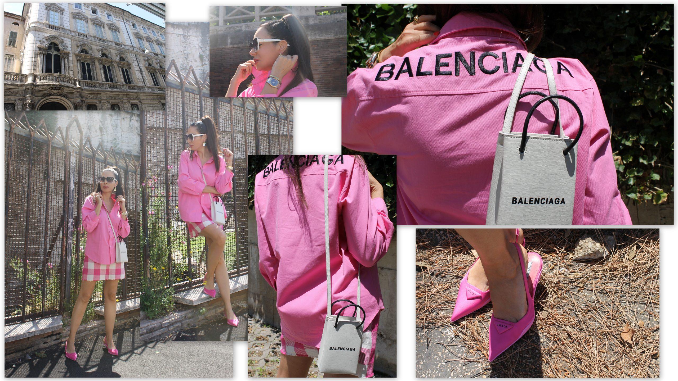 Rome Vacation Italian Summer Dream Balenciaga Look Prada Shoes Paola Lauretano