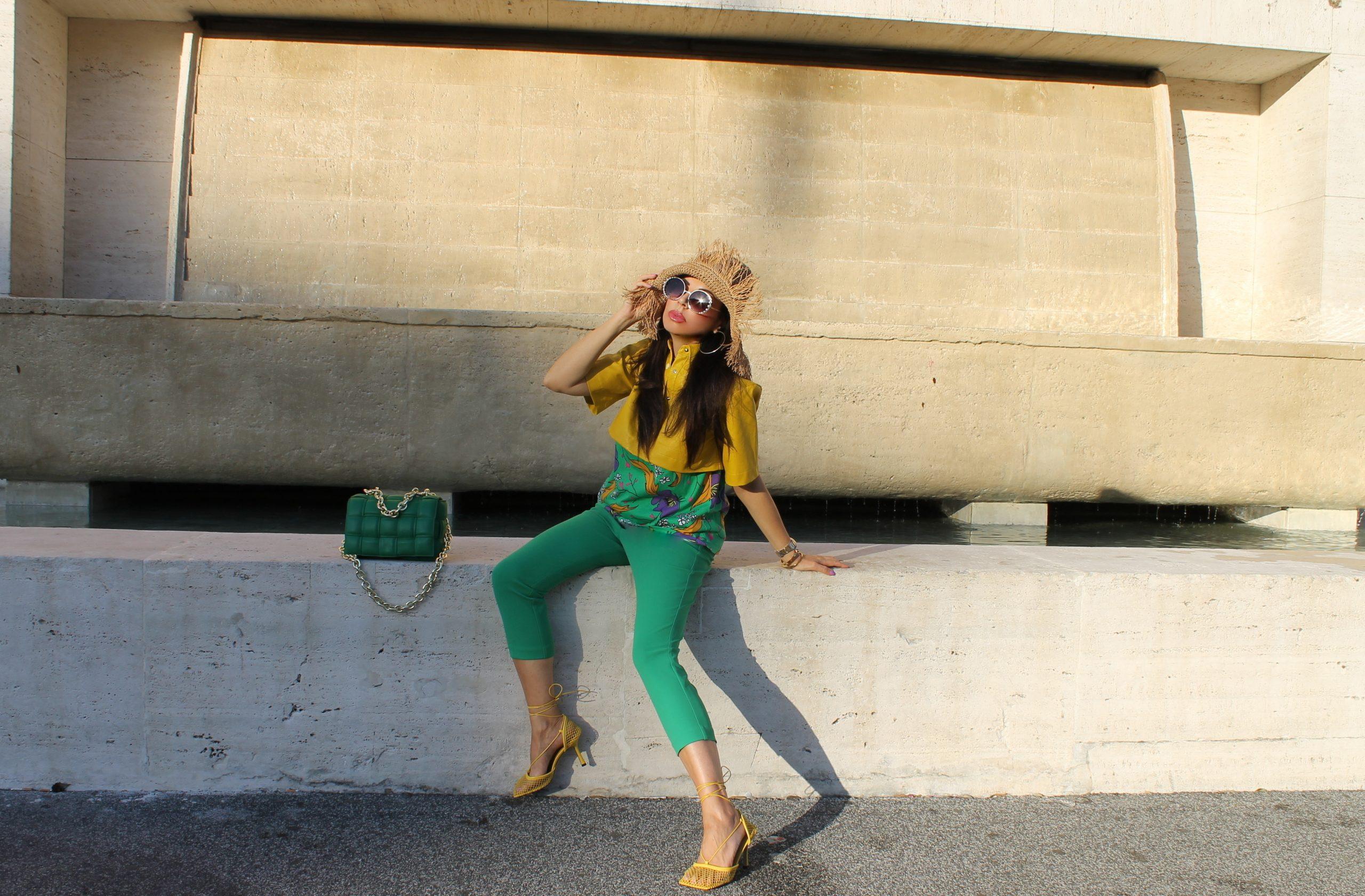 Yellow Green Trend Bottega Veneta Accessories Italian Summer Vibes Paola Lauretano