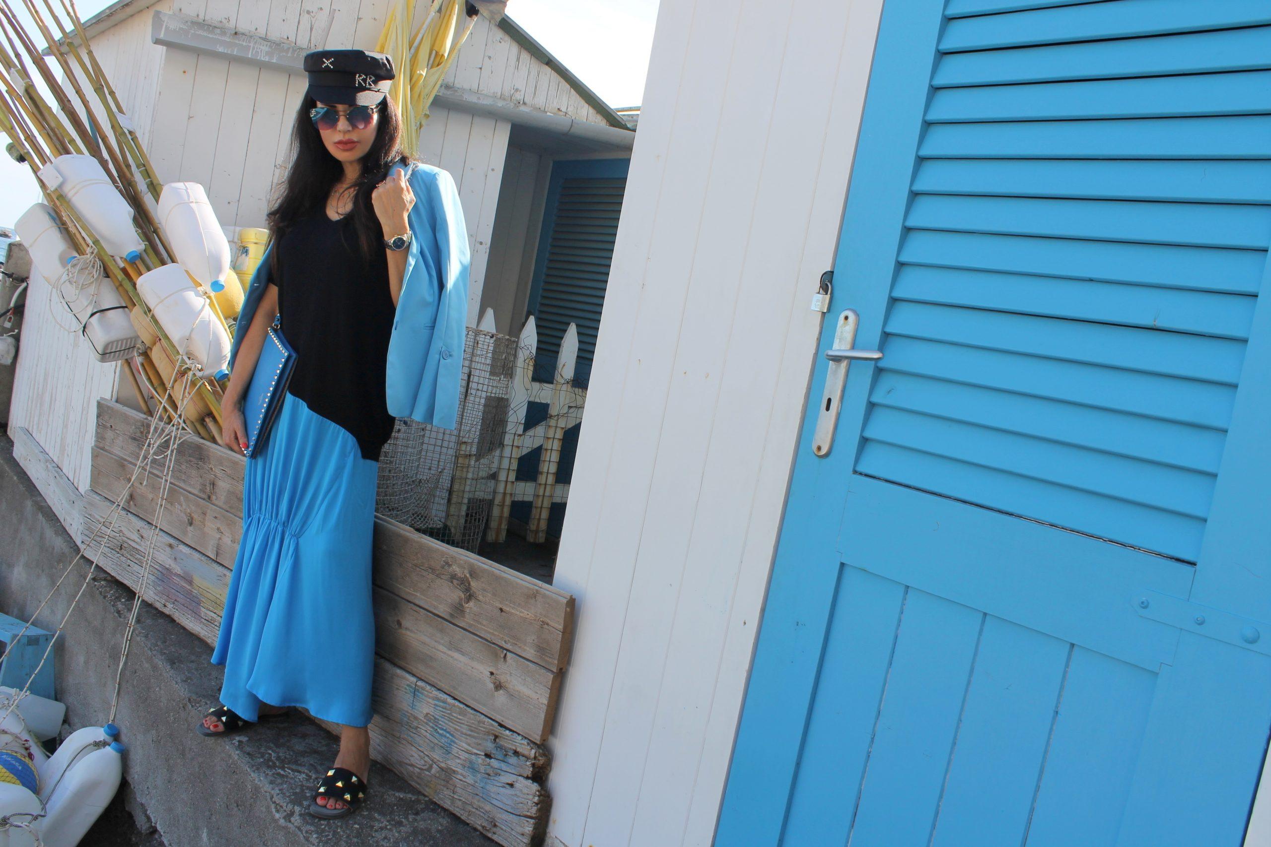 Amalfi Coast Positano Staycation Aesthetic Total Look Turquoise Dior LookBook