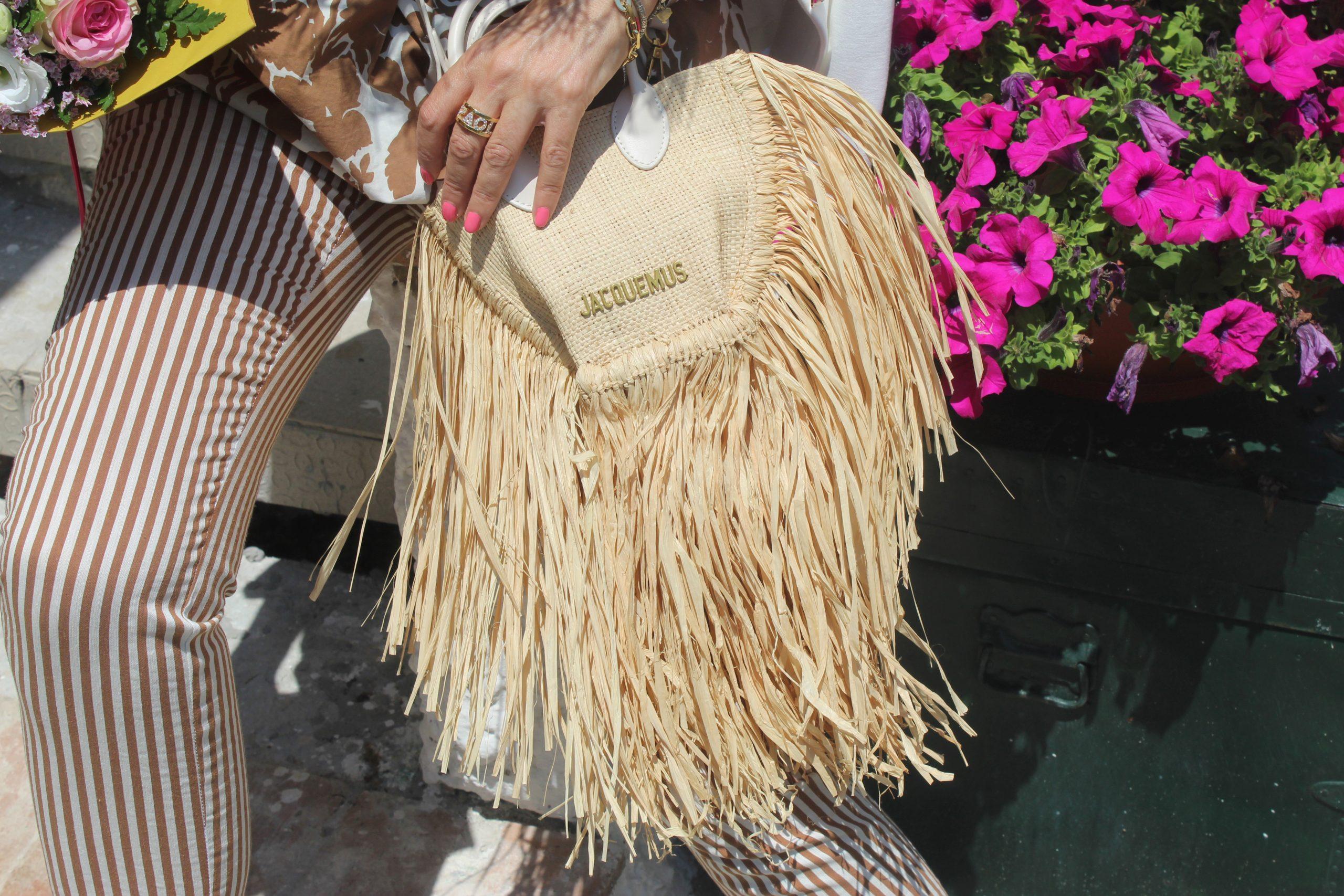 Summer Country Vacation JACQUEMUS bag Paola Lauretano