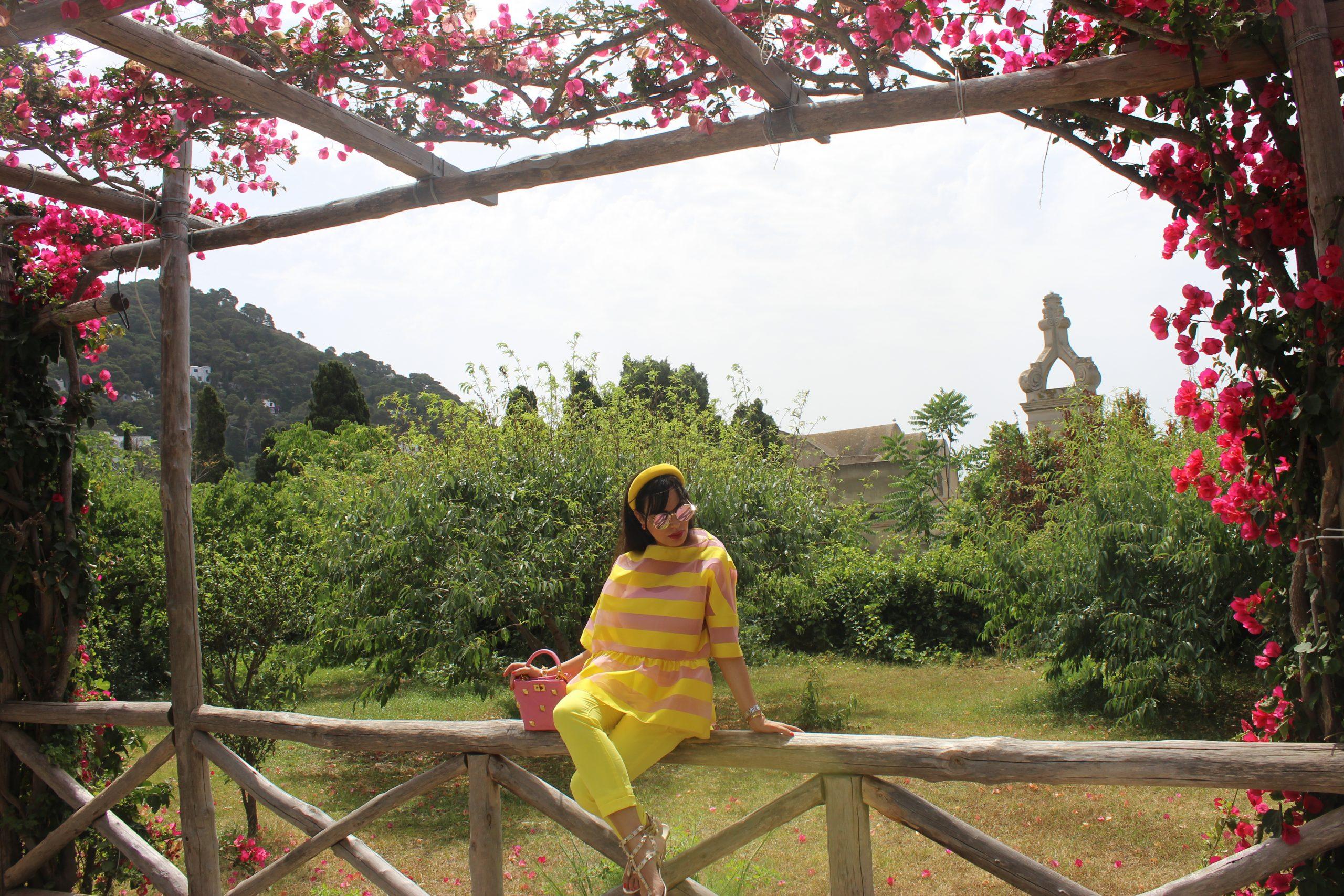 Carthusia Capri Parfume Valentino Yellow Inspo Outfit Italian Summer Staycation Paola Lauretano