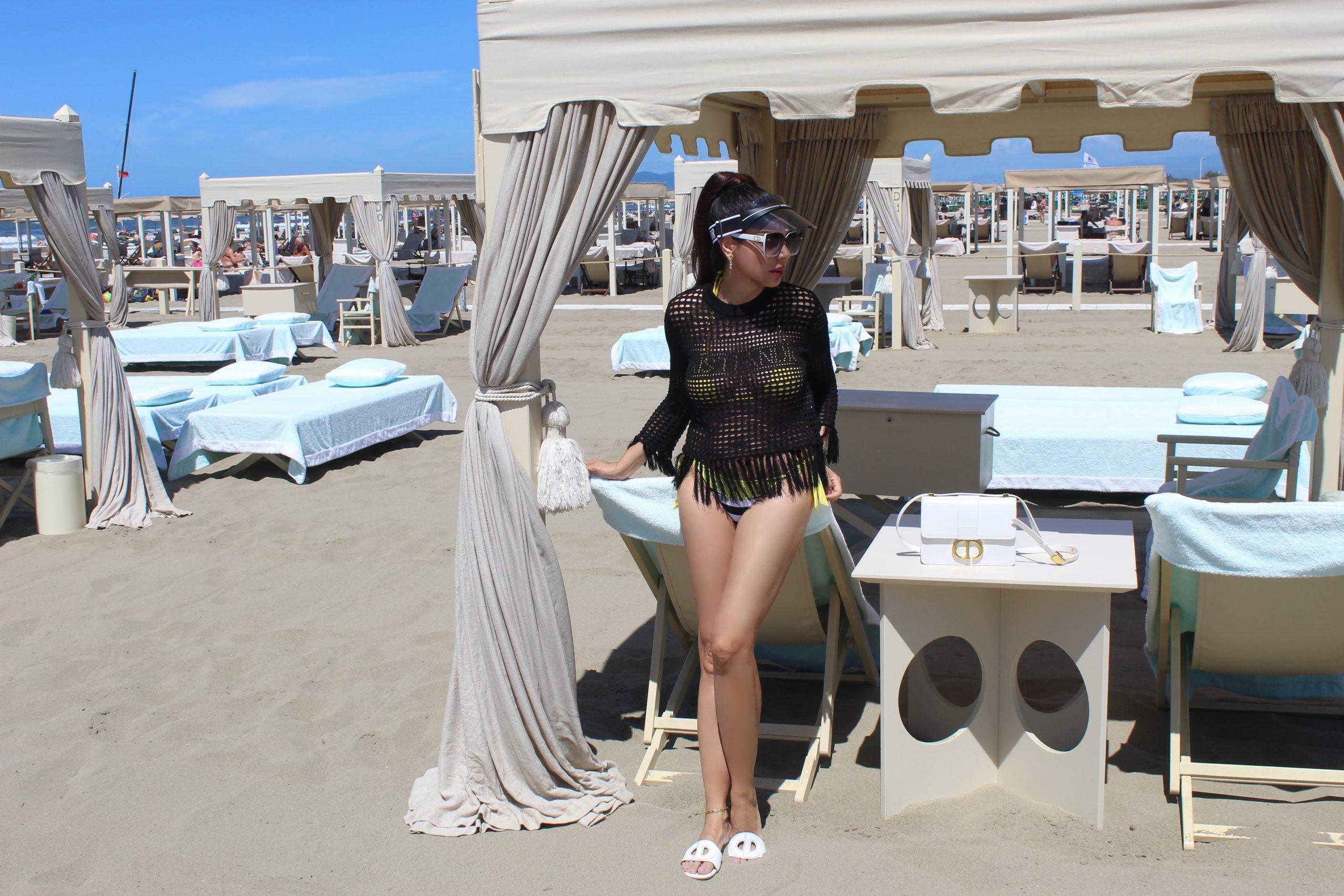 Forte dei Marmi Versilia Italian Summer Style Dior Look Paola Lauretano