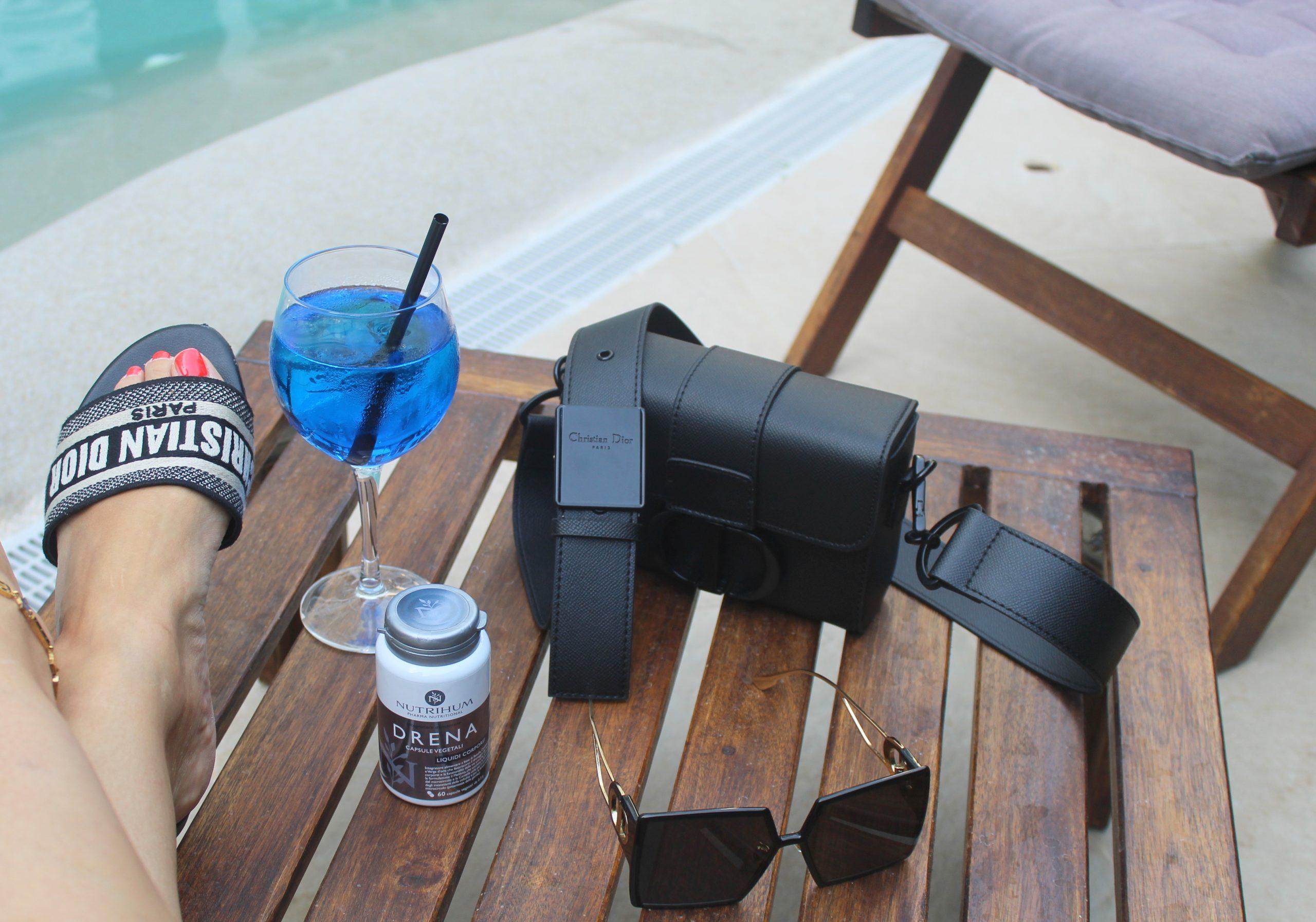 Capri Luxury Staycation Dior Swimwear Total Look Paola Lauretano