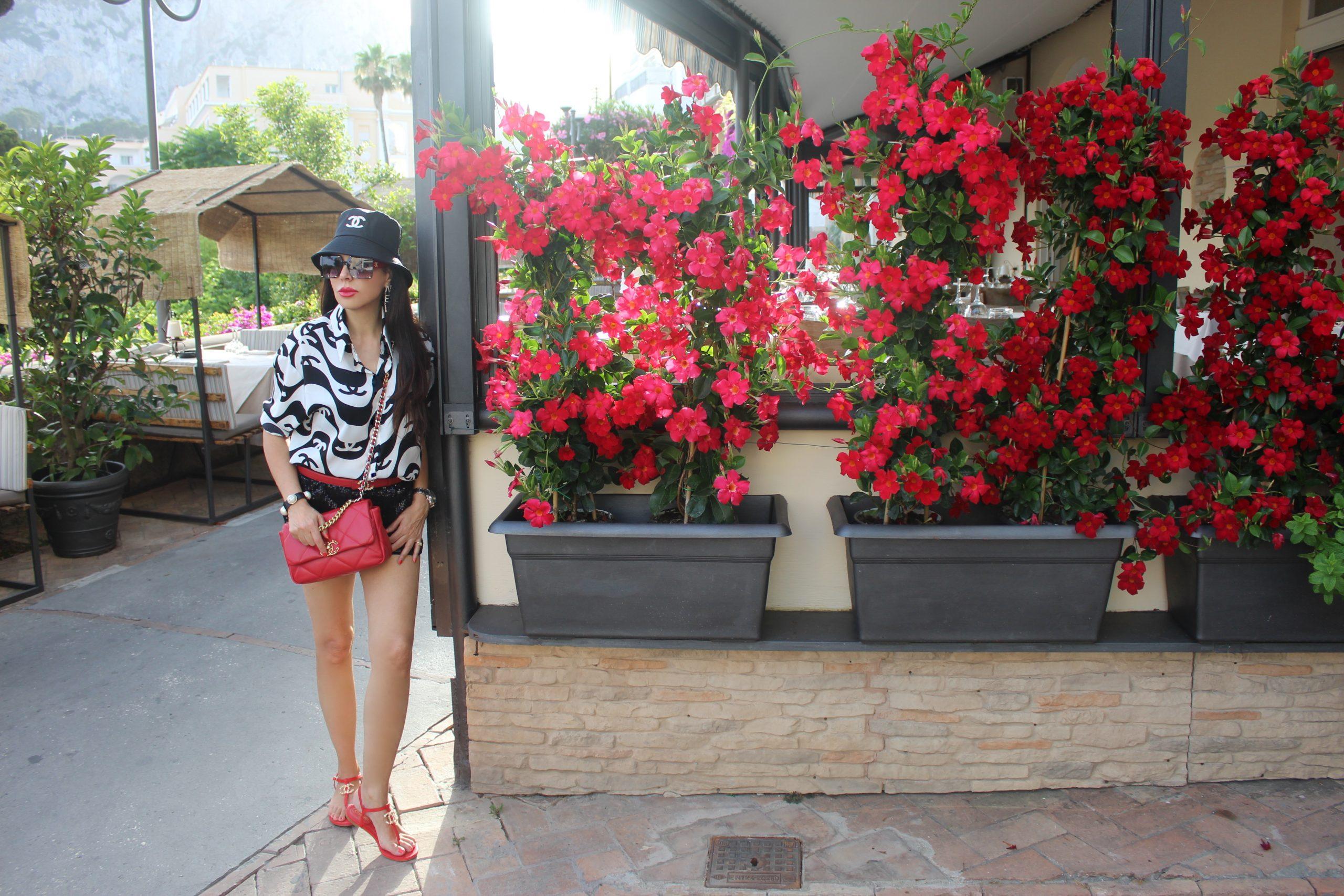 Capri Luxury Boutique Hotel Chanel Italian Style Staycation Chanel Total Look Paola Lauretano