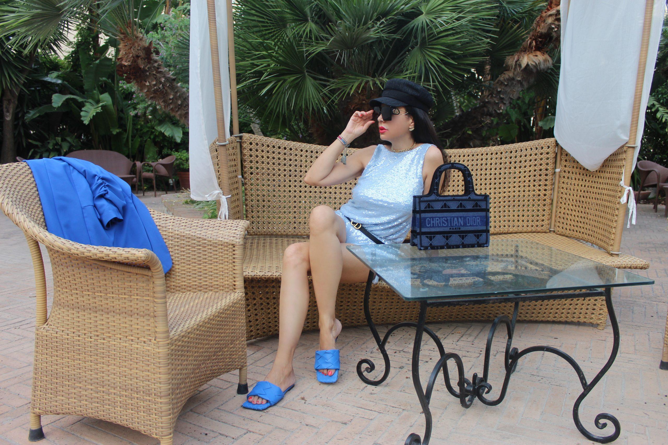 Capri Bottega Veneta Blue Inspo Outfit Italian Summer Staycation Paola Lauretano