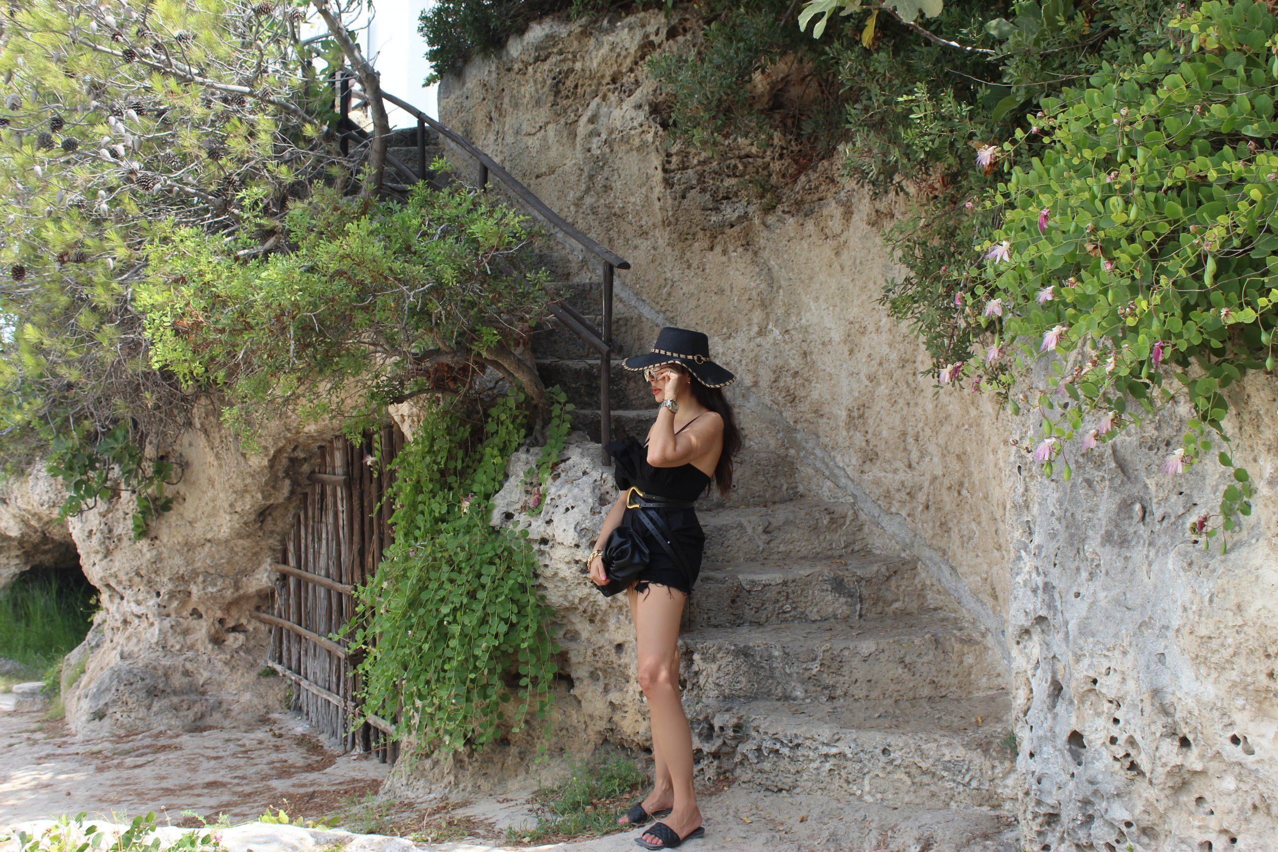a postcard from Italy Polignano a Mare Puglia Bottega Veneta Summer Inspo Look Paola Lauretano
