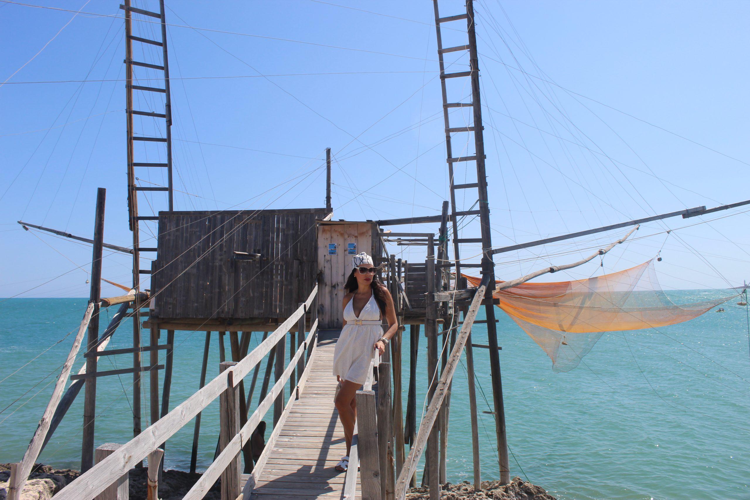 Trabocchi Gargano Italian Summer Staycation Hermes Elisabetta Franchi Lookbook Paola Lauretano