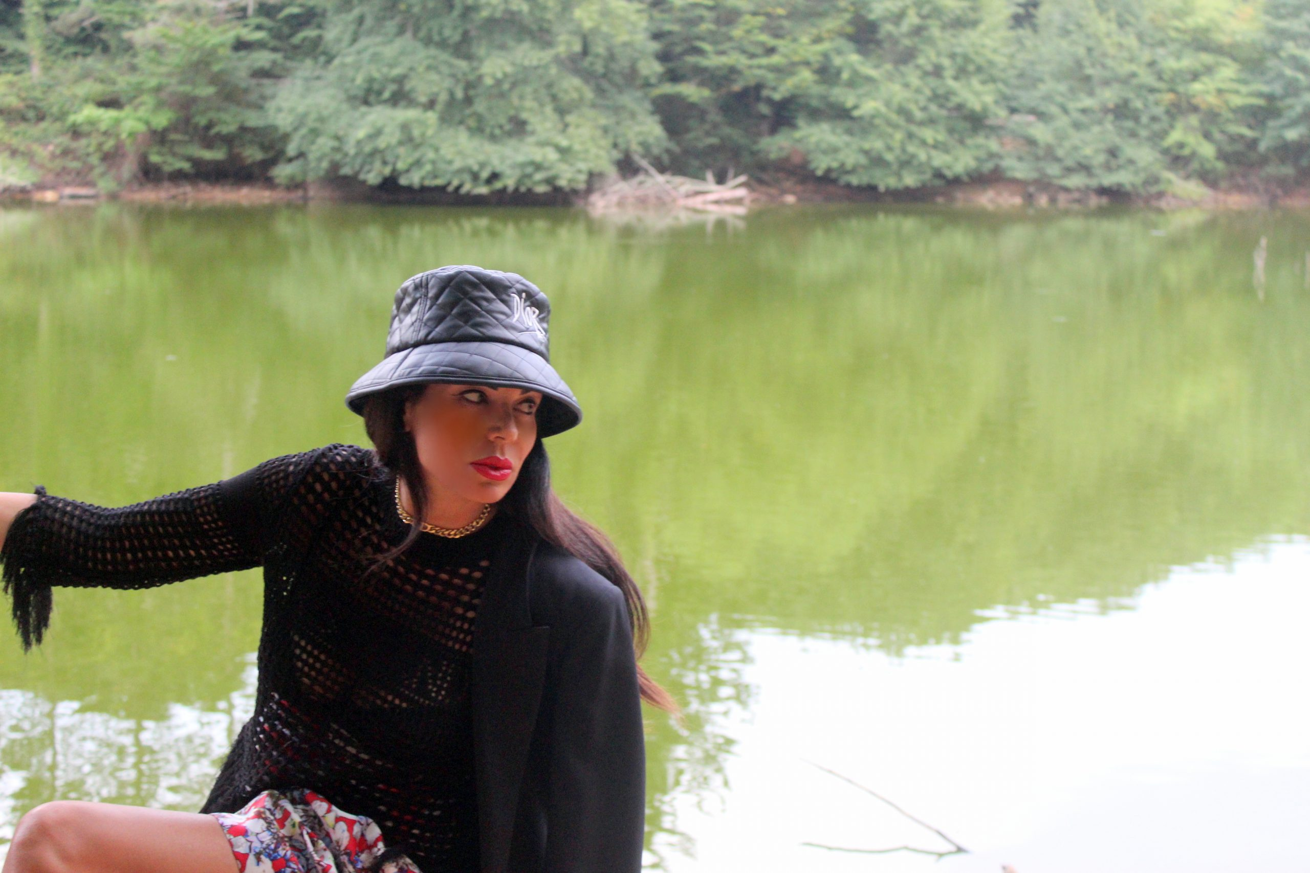 travel blog italy staycation Umbria black dior outfit Paola Lauretano