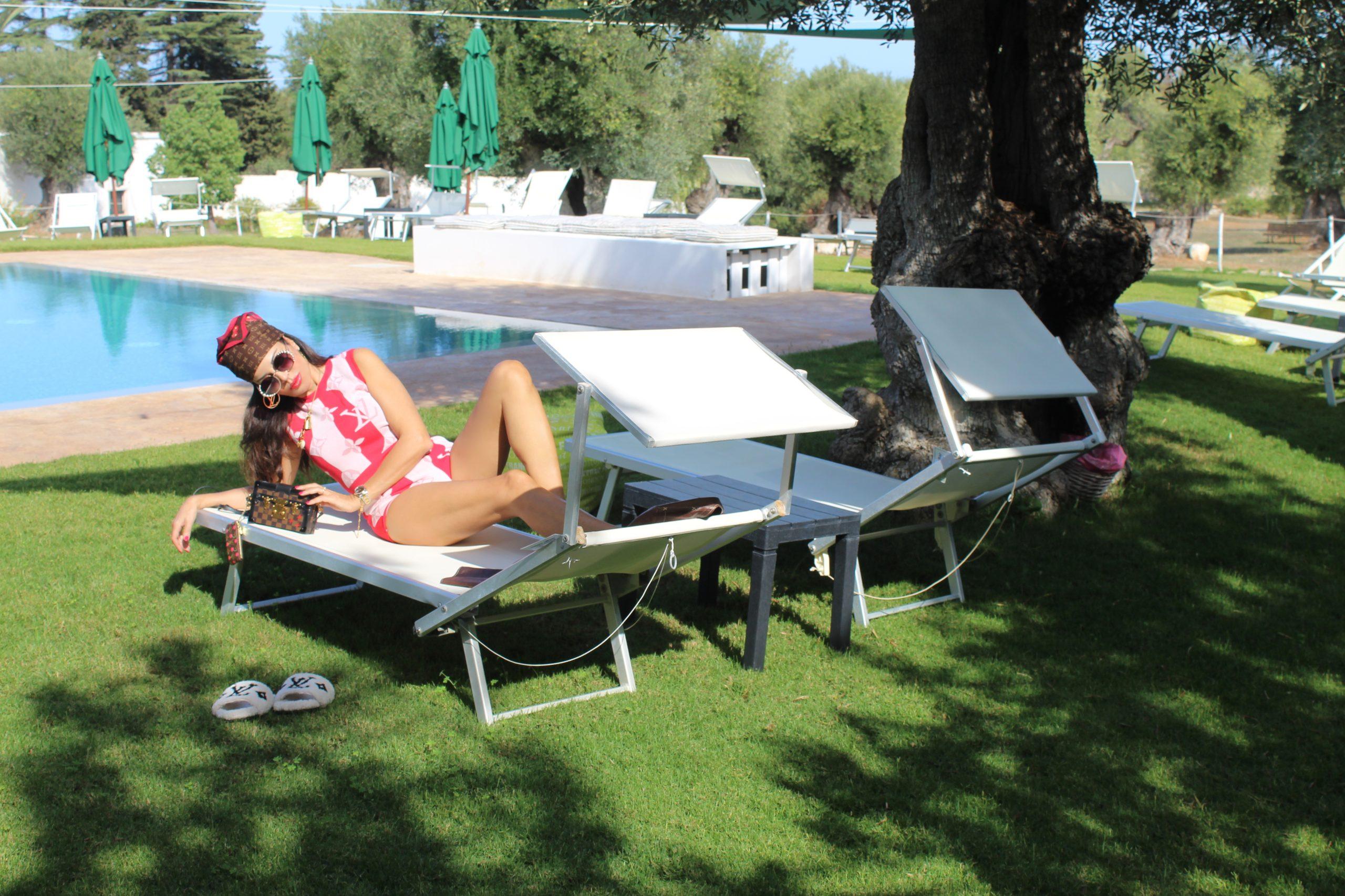Puglia Ostuni Resort Louis Vuitton Lookbook Fall Trends OOTD Paola Lauretano